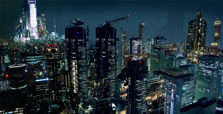 City Concept 2 by ~frenic on deviantART