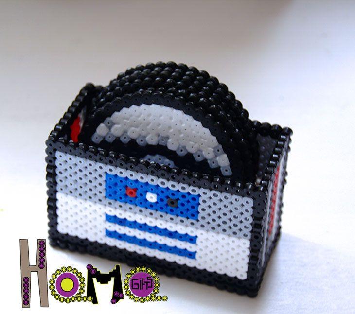 Set coasters. Star wars coaster perler. Hama beads coasters