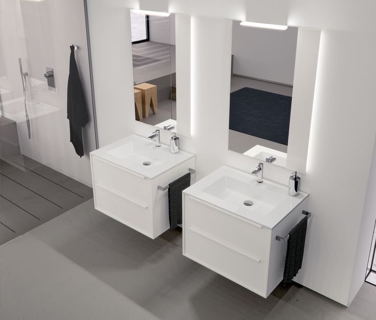 meuble de salle de bains authentique manhattan la salle de bains cedeo salle de bain. Black Bedroom Furniture Sets. Home Design Ideas