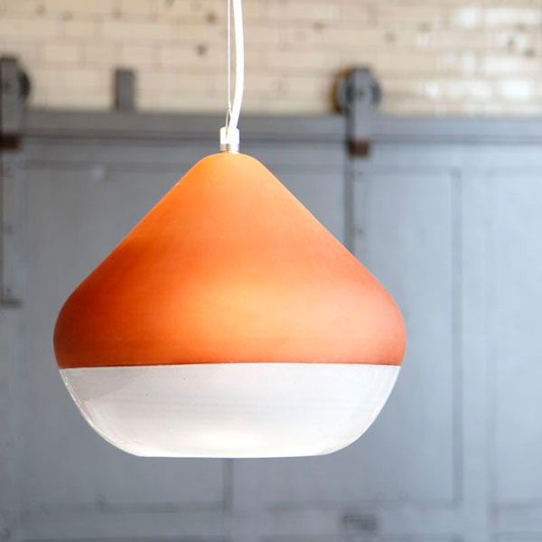 View in gallery Terracotta Lamps 2 Elegantly hanging over the dining table: Terracotta Lamps