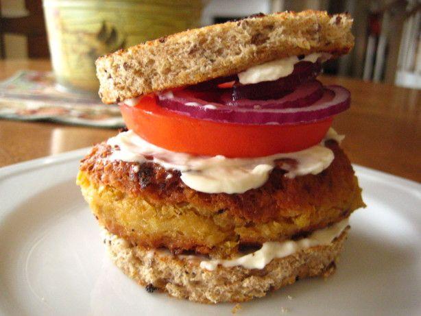 Chickpea Burger