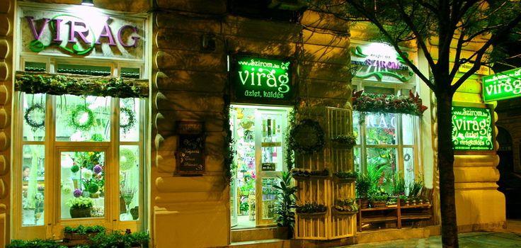 Szirom Virágüzlet  Budapest Podmaniczky u 39.  www.szirom.hu szirom virágküldő szolgálat