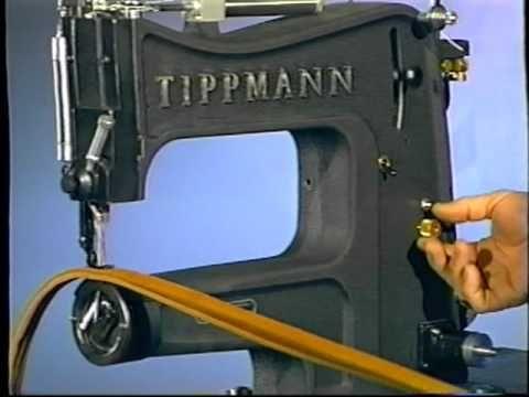Tippmann Aerostitch Sewing machine in action - YouTube