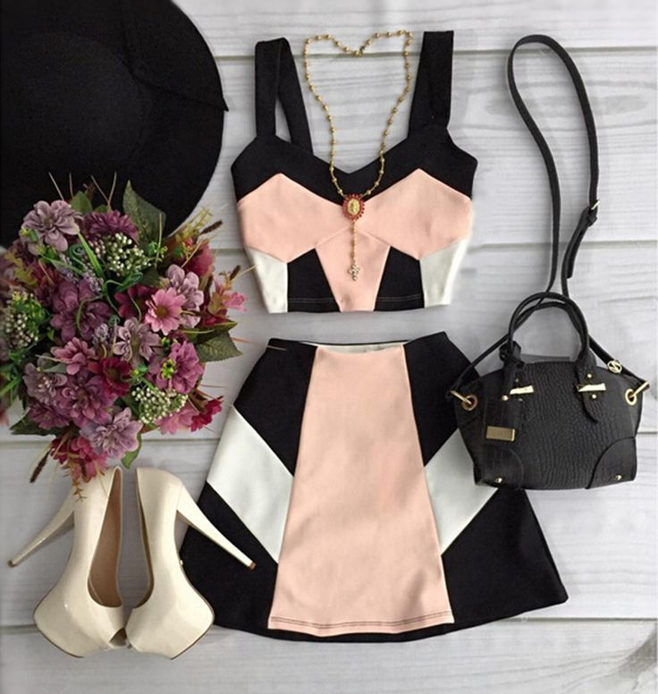 Highly Recommended 2016 New Style Popular Women'S Sets Casual Cute Sleeveless Women Sets Good Quality Crop Tops Skirts Set-in Women's Sets from Women's Clothing & Accessories on Aliexpress.com | Alibaba Group
