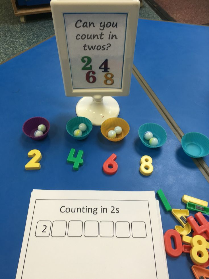 Counting in 2s