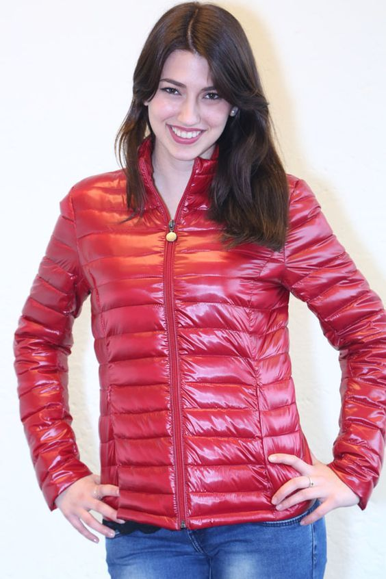 295 best shiny women jackets images on pinterest puffy for Nice shirts for womens