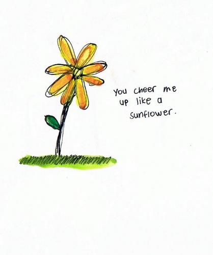 live life as a sunflower
