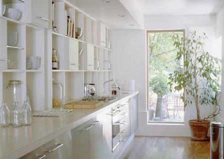 cocina natural blanca