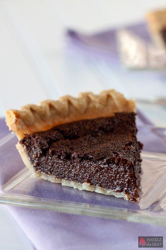 chocolate chess pie chocolate chess pie pudding pies chocolate flavors ...