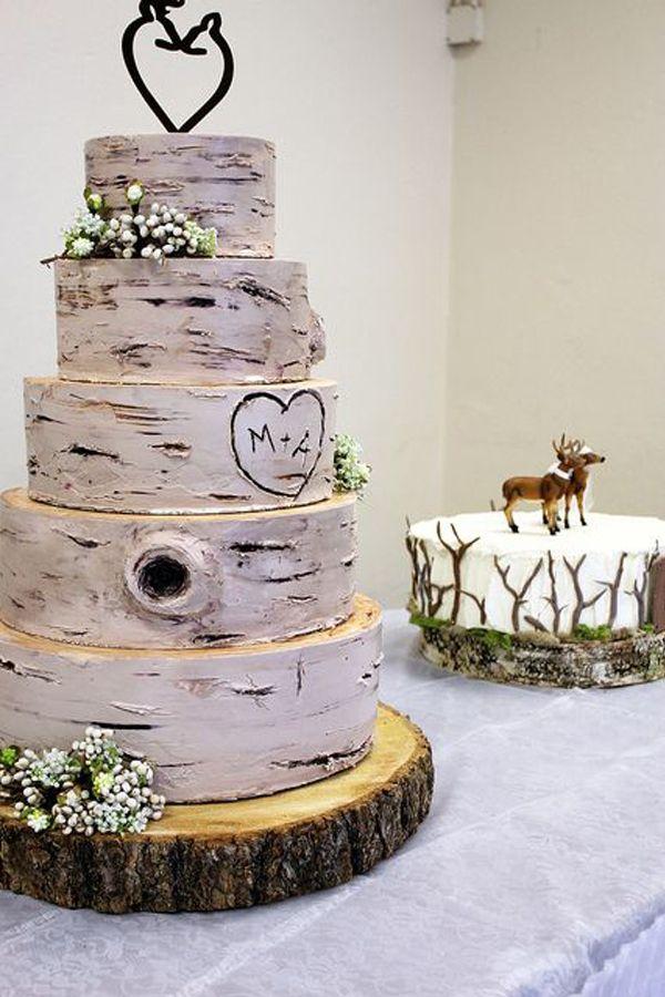 custom rustic wedding cake ideas for 2017