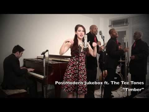 """This 1950s style """"Timber"""" cover was arranged by New Jersey musician Scott Bradlee . 