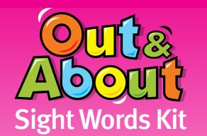 Out & About flash cards and placemat words sets (PDF) and app. Out & About is developed by the Department of Education, Training and Employment and is aimed at Prep to Year 2 students to help them master the first 100 sight words to which they are typically introduced.