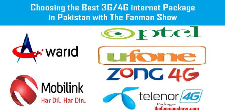 Here is the list of all the Telecom sector working in Pakistan with amazing calls, SMS and internet offers, but people with various SIM Cards are always try to choose the Best 3G/4G Internet Package to minimize their expenses.  The following telecom companies which are offering the Best 3G/4G Internet Package in Pakistan