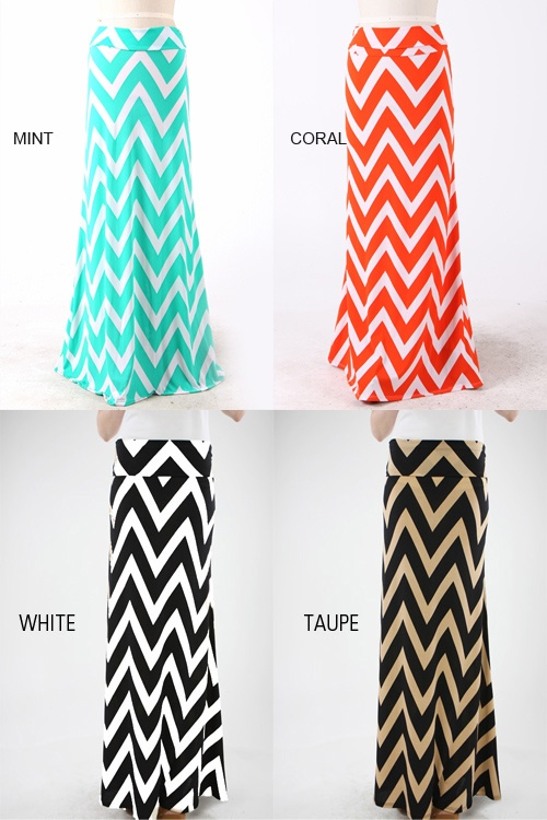 Chevron Clothing Skirts Dresses  arriving May 1, 2013