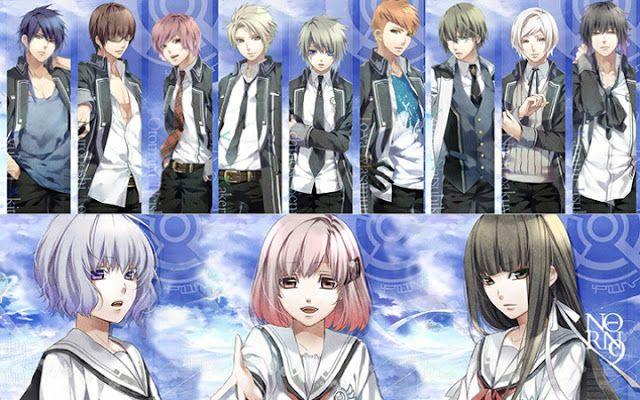 Neko Kawaii: Anime de romance: Norn9: Norn+Nonet