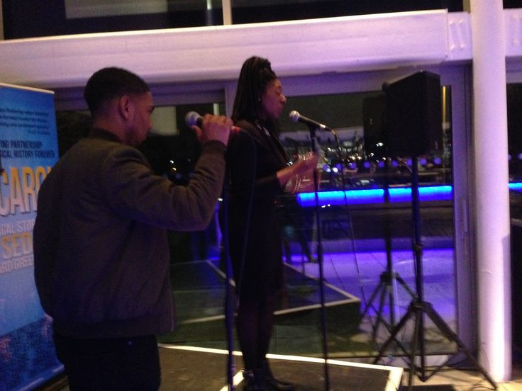 Enrico and Bow Promise singing Break You Down together!