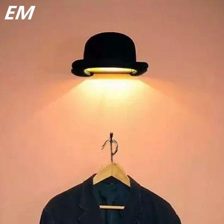 Старинные Стены Лампа L260 * W155 * H125mm Черной Шляпе 90 ~ 260 В Современный Дом освещение Лампа Для Чтения новый Дизайн