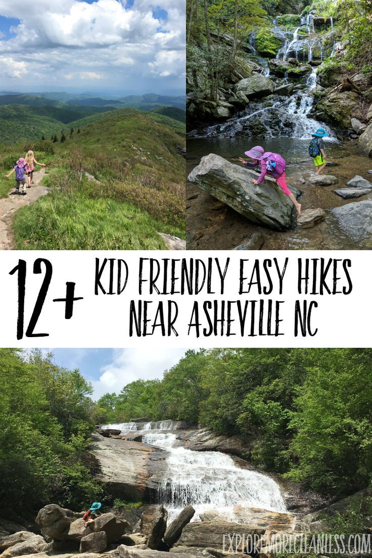 Kid Friendly Easy Hikes Near Asheville Nc Explore More Clean Less Craggy Gardens Asheville Waterfalls Asheville Nc Hiking