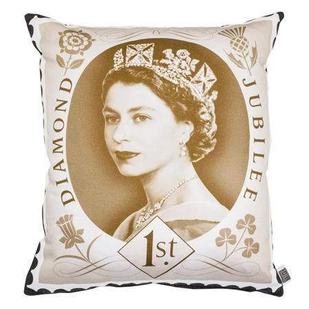 The Colour Union Royal Mail Diamond Jubilee Cotton Sateen Cushion