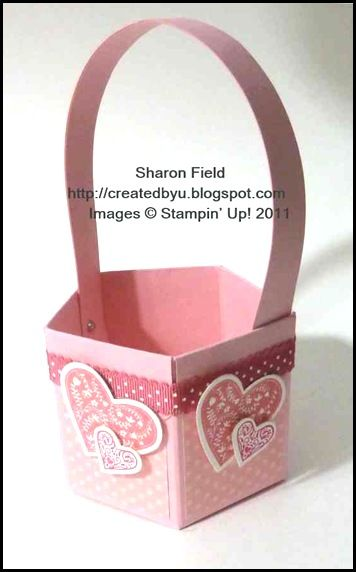 Tutorial: Valentine basket (obviously, could be adapted for anything!)