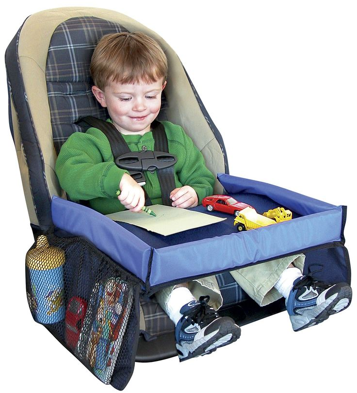 Snack & Play Travel Tray- The Snack & Play Travel Tray is ideal for short and long trips.   Use the Travel Tray anywhere you go with your car seat, even airplanes! Travel tray makes a great gift.  #travel #forkids