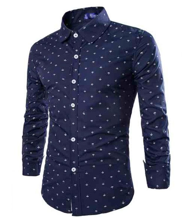 Navy Anchor Button Up Men 39 S Fashion Pinterest Shirts