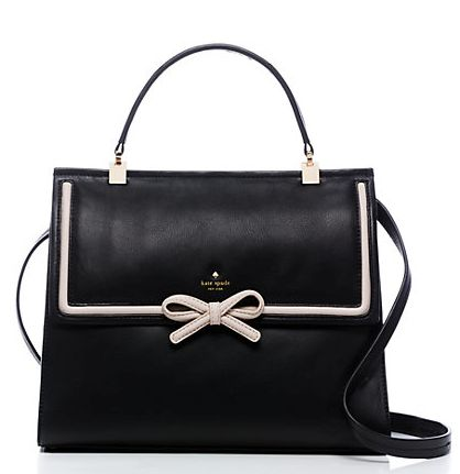 cute bow tie kate spade bag