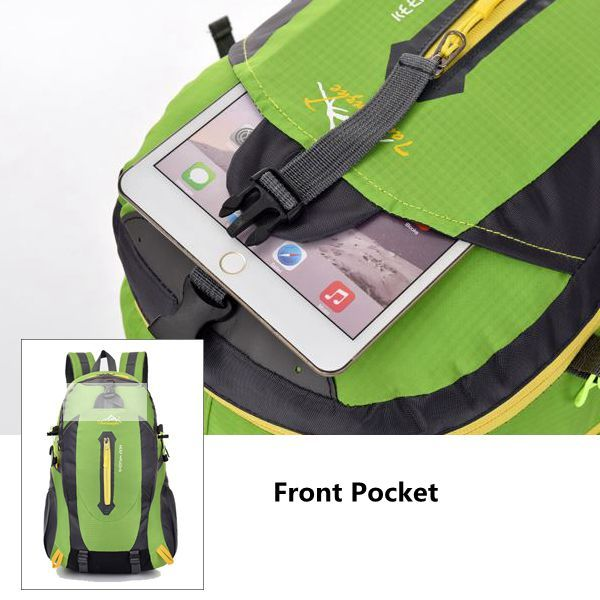 55L Waterproof Oxford Travel Backpack Big Capacity Outdoor Climbing Bag