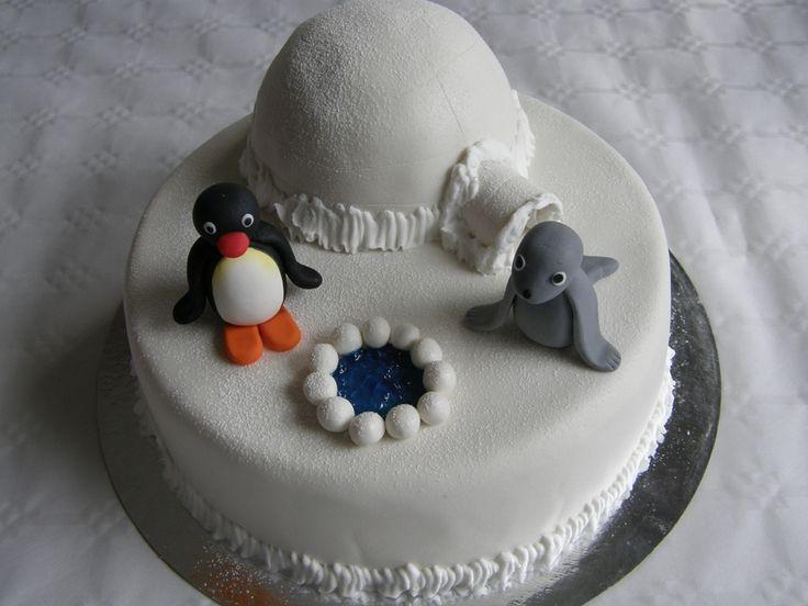 Pingu cake — Children's Birthday Cakes