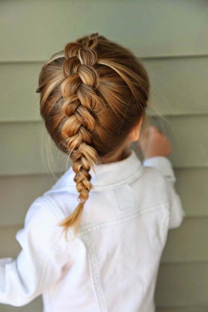 ▷ 1001 + ideas para peinados fáciles para niñas con trenzas y