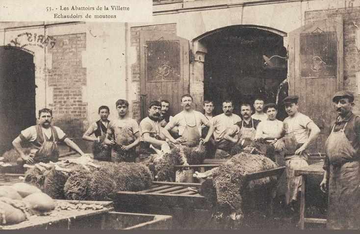 Les anciennes rues de Paris | Les Abattoirs de la Villette | 19ème arrondissement