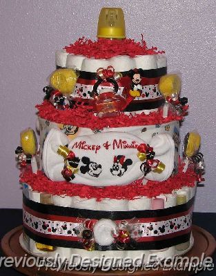 MICKEY AND MINNIE BABY SHOWER THEME | Disney Themed Baby Shower  Gifts/Mickey And Minnie