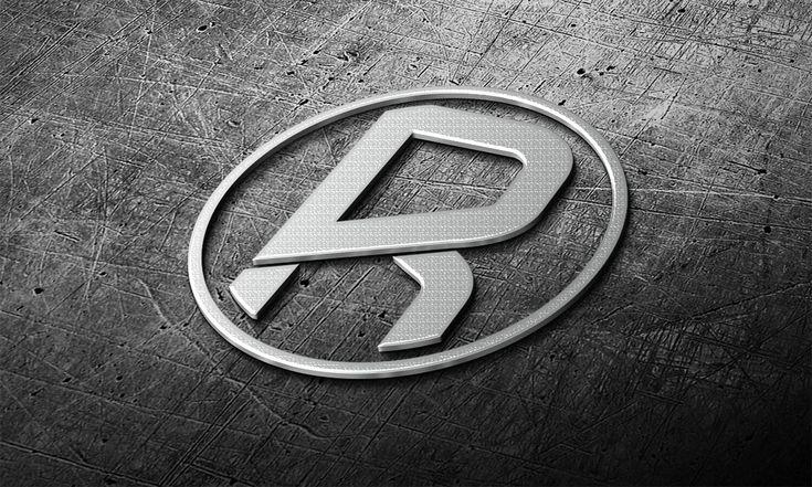 Free 3d Realistic Steel Logo Mark Mockup Psd Logo Mockup Logo Design Mockup Free Logo Mockup