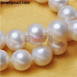 single pearl necklace jewelry.  The magnetic effects will come from the presence of magnetized beads.Not all beads or materials used the bracelet has to be necessarily magnetic, but a majority of the beads need to be in order for magnetic therapy to work. visit: www.bmeripearl.com