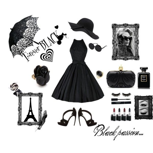 """""""Andyts passion Black fashion"""" by andyts on Polyvore"""