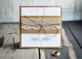 Znalezione obrazy dla zapytania zaproszenia ślubne