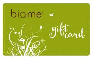 Biome Gift Voucher