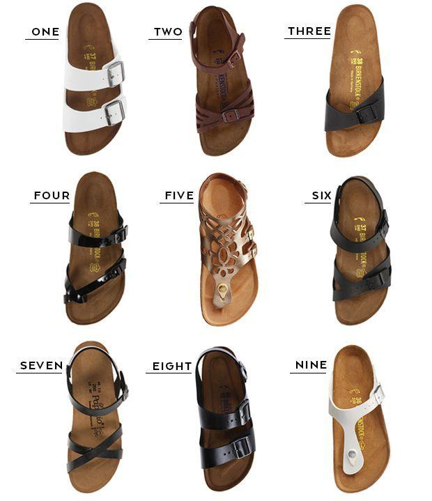 What to Pack: Birkenstock Sandals
