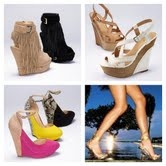 wedges, wedges, wedges, and ooh those are cute!: Style, Ooh, Wedges