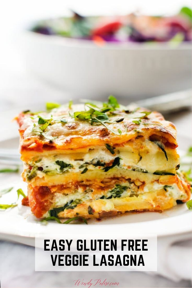 Gluten Free Veggie Lasagna Recipe Easy Vegetable Lasagna Easy Vegetarian Lasagna Recipe Vegetable Lasagna Recipes