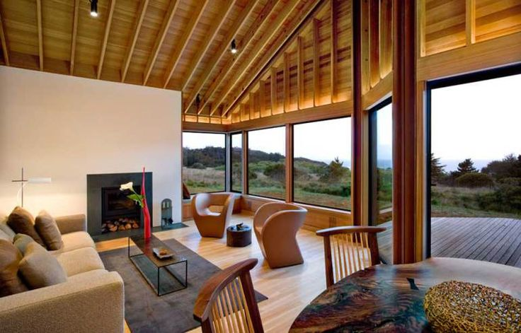 adelaparvu.com despre casa minimalista pe malul marii, Arhitectura Turnbull Griffin Haesloop, Foto David Wakely (9)
