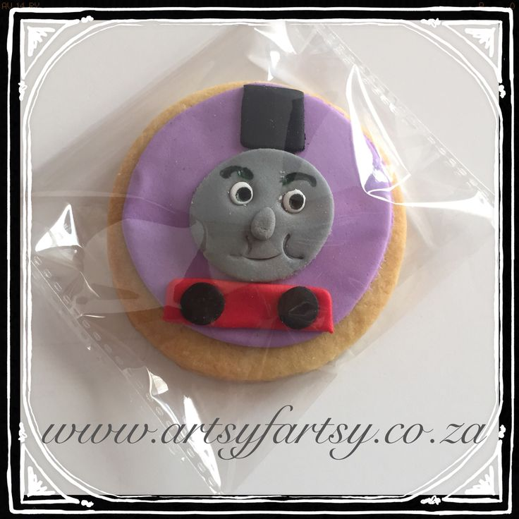 Thomas the Tank Engine Cookie #thomasthetankenginecookie