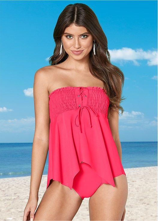 86c234b073765 product Shopping Places, Tankini Top, Bikini Photos, Off Shoulder Blouse,  Smocking,