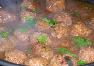 Veal Marsala Meatballs (use ground chicken and add 8 oz. sliced mushrooms)