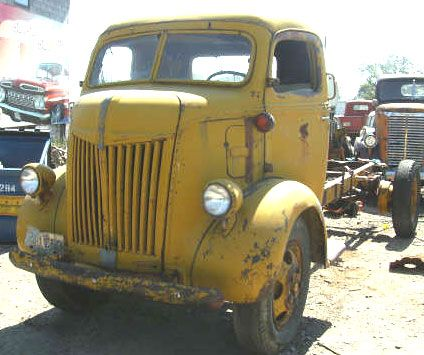 antique trucks for sale | Desert Classics...1943 Ford COE Cab Over Engine Truck For Sale