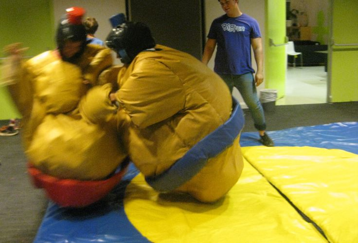 Youth Week 2014 - Mash Bash @ Concord Library Sumo style!