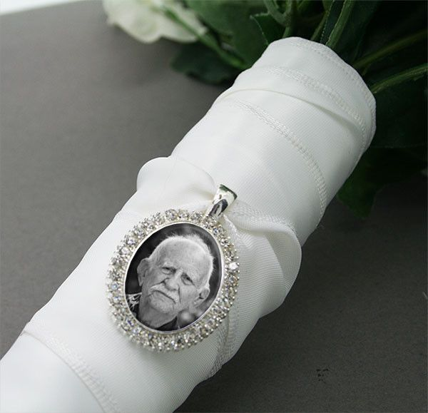 Wedding Bouquet Photo Charm