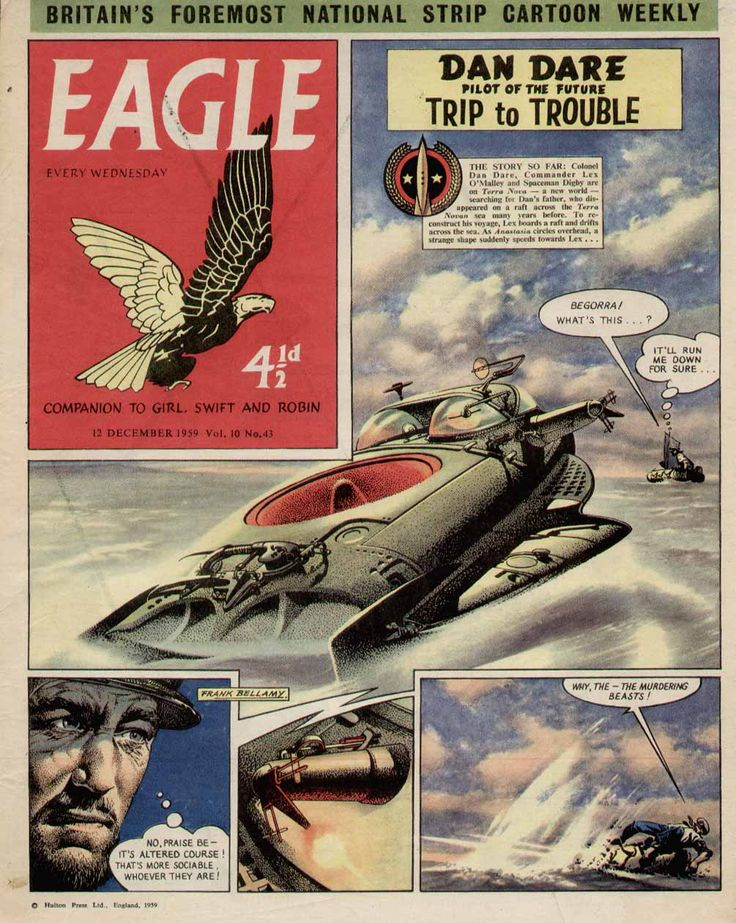 Dan Dare - Frank Bellamy. Eagle