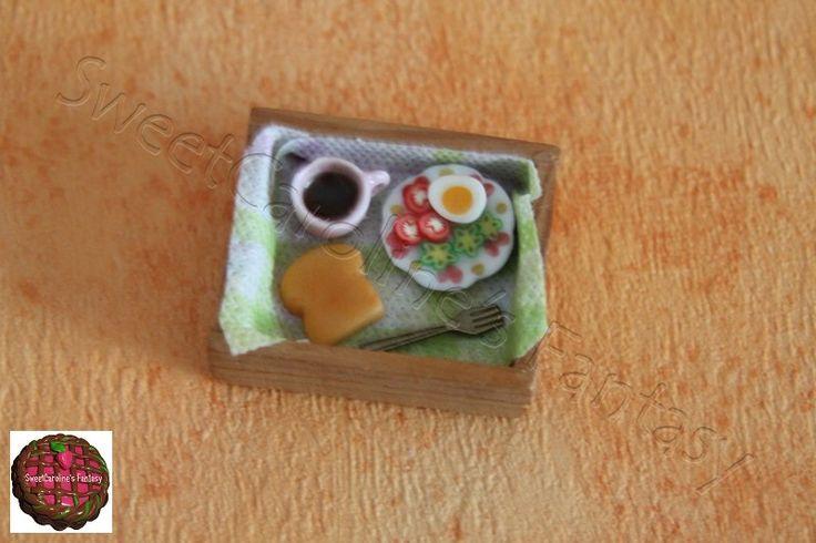 Vassoio colazione - www.facebook.com/SweetCarolineFimo