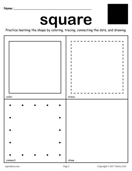 145 best Shapes Worksheets Coloring Pages Activities images